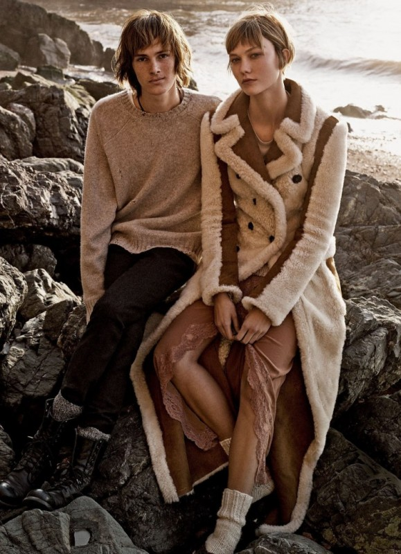 Karlie Kloss, Dylan Brosnan for Vogue US by Mikael Jansson