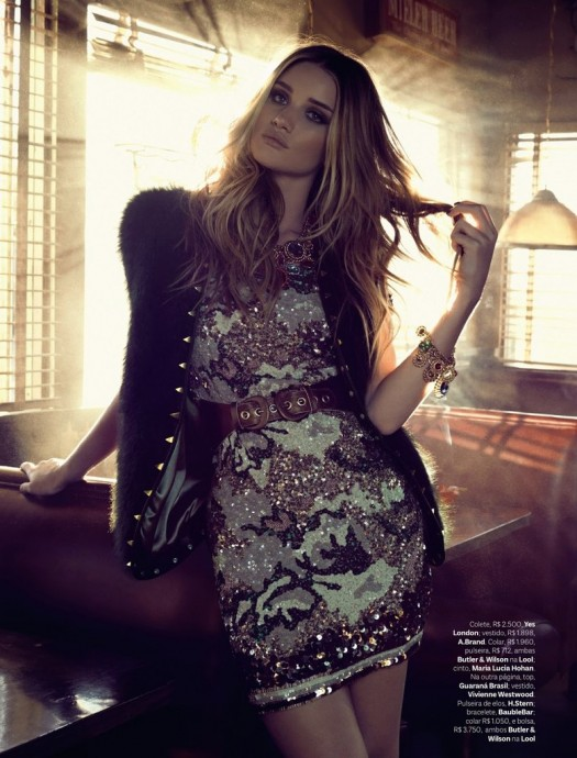 Rosie Huntington-Whiteley by Henrique Gendre