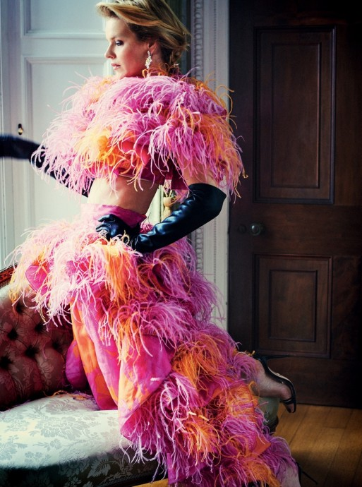 Eva Herzigova for Tatler UK by Simon Emmett