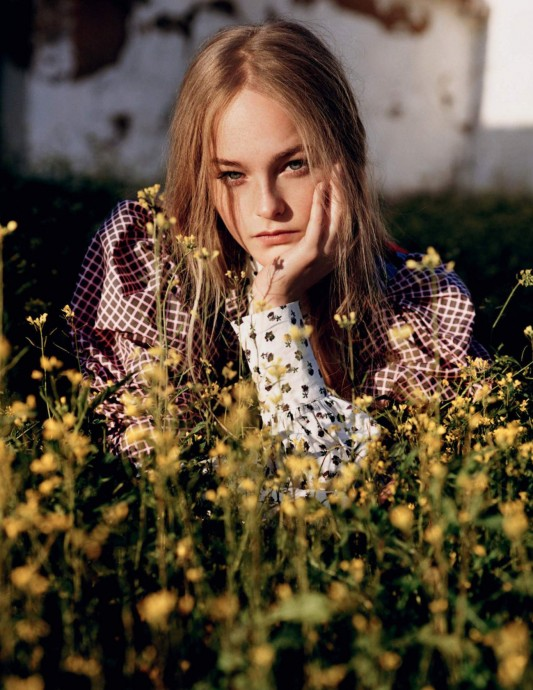Jean Campbell for Vogue UK by Alasdair McLellan