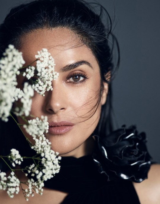 Salma Hayek for The Edit Magazine by Nico Bustos