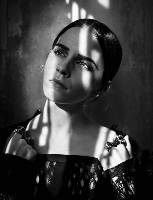 Emma Watson for Vogue Italia by Vincent Peters