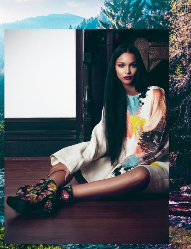 Lais Ribeiro for FLAUNT Magazine by David Agbodji