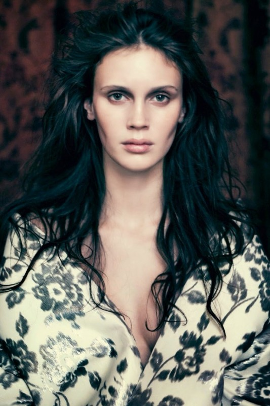 Marine Vacth for Vogue Italia by Paolo Roversi
